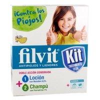 FILVIT KIT - ANTIPIOJOS (100 ML + 100 ML)