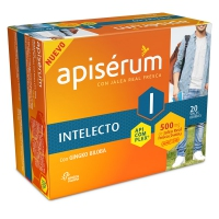 APISERUM INTELECTO 500 MG 20 VIALES 10 ML