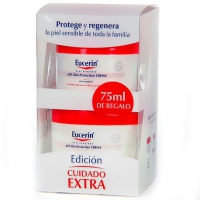 EUCERIN CREMA PIEL SENSIBLE PH-5 (100 ML)+75ML REGALO