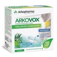 Arkovox Dolor de Garganta Menta/Eucalipto 20 comprimidos