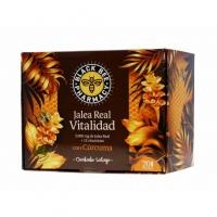 JALEA BLACK BEE VITALIDAD CON CÚRCUMA 20 AMPOLLAS
