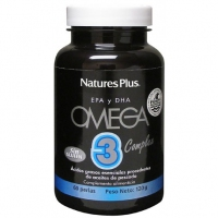 NATURE'S PLUS OMEGA 3 COMPLEX 60 PERLAS